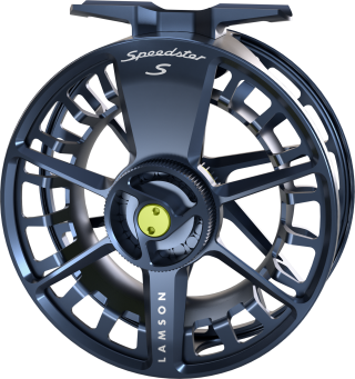 Lamson Speedster Reel-3+ Midnight