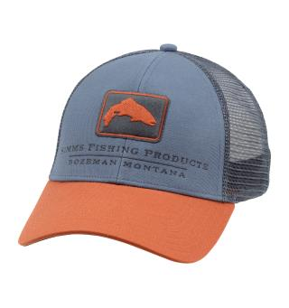 Simms Trout Icon Trucker Caps Storm