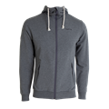 Tufte Hoodie Jacket S Hettejakke, Dark Grey Melange/Phantom