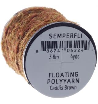 Semperfli Dry Fly Polyyarn Caddis Brown
