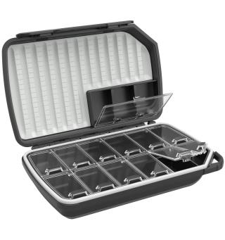 Loop Opti 180 Dry Fly Box Carbon Grey