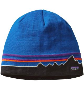 Patagonia Beanie Hat Andes Blue One Size