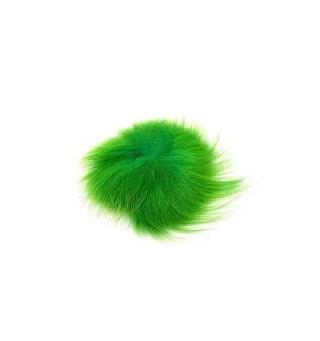 Arcticfox Tail Green Highlander The Fly Co