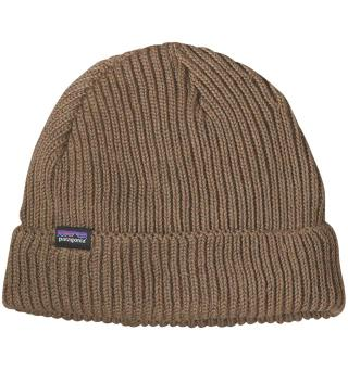 Patagonia Fishermans Rolled Beanie Ash Tan, One Size