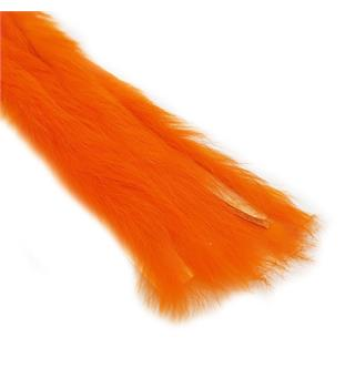 Rabbit Strips S-Cut 3mm. - Fluor Orange The Fly Co