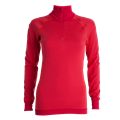 Tufte Bambull Half Zip XXL Barberry/Persian Red - dame