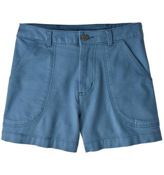 Patagonia Stand Up Shorts 3'' XS Pigeon Blue, dame