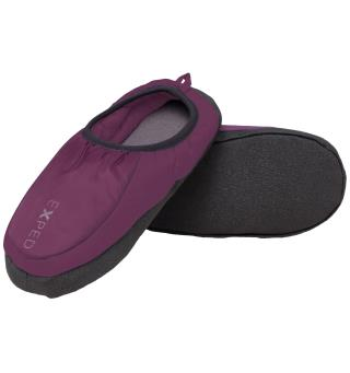 Exped Camp Slipper S Dark Violet Tøffler til hytta eller teltet