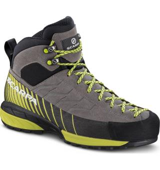 Scarpa Mescalito Mid GTX 38 Dame, Midgray-Light Green