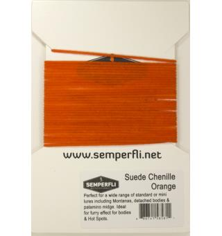 Semperfli Suede Chenille Orange